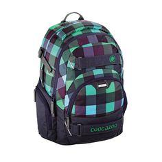 Coocazoo Schulrucksäcke CarryLarry2 Rucksack Green Purple District