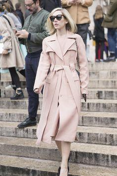 A Monochrome Pastel Outfit