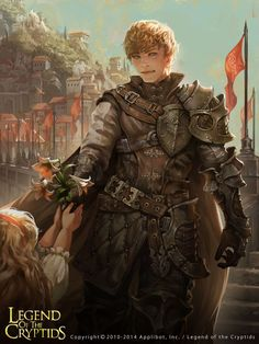 m Paladin Plate Armor Cloak flowers urban city Hills Legend of the Cryptids 2014 by Kyoungmin Park lg