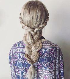 Rope • 3 Strand • Fishtail Braid ✨ look created by @ashpettyhair @ashpettyhair ✨ #imallaboutdabraids #beyondtheponytail