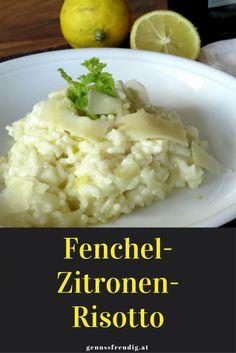 Fenchel-Zitronen-Risotto | genussfreudig