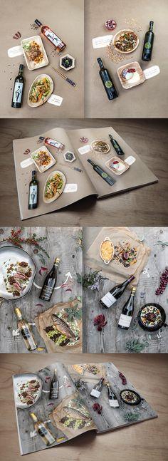 FOOD&WINE on Behance - Szendeff Lőrinc