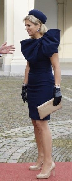 Queen Maxima received the visit King and QUeen of Belgium 11/8/2013