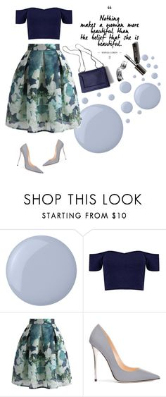 """""""The Definition Of Beauty"""" by latoyacl ❤ liked on Polyvore featuring Butter London, Chicwish, Jimmy Choo, 3.1 Phillip Lim and Bobbi Brown Cosmetics"""