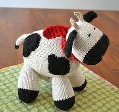 Knitted Cow