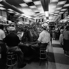 Jackpot, back in the day • (caption from the website) Not published in LIFE. Las Vegas, 1955