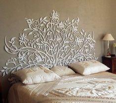 icu ~ tête de lit madame pompadour in 2019 Home Bedroom, Bedroom Decor, Wall Decor, Bedroom Small, Wall Art, Bed Design, Wall Design, Design Bedroom, Painted Furniture