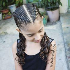 Baddie Hairstyles, Braided Hairstyles, Cool Hairstyles, Little Girl Hairstyles, Hairstyles For School, Cool Hair Designs, Braids For Long Hair, Stylish Hair, Cornrows