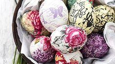 Oua pentru Paste decorate cu tehnica servetelului. Metoda pas cu pas, in imagini. Easter Eggs, Projects To Try, Favorite Recipes, Paste, Blog, Handmade, Hand Made, Blogging, Handarbeit