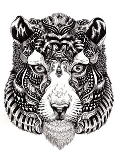 [caption align=alignnone caption=Patterned Animal Illustration][/caption] It would be hard to tell from these strikingly detailed animals but artist Iain Macarthur got his start . Art And Illustration, Ink Illustrations, Pattern Illustration, Animal Drawings, Art Drawings, Cartoon Drawings, Tattoo L, Sick Tattoo, Marquesan Tattoos