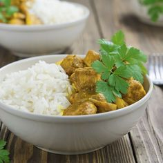 Curry de poulet au Cookeo