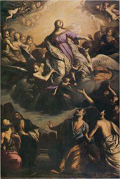 Assunta (Francesco Paglia)- L'Assunta è un dipinto a olio su tela (285×195 cm) di Francesco Paglia, databile al 1672-1675 e conservato nella chiesa di San Giovanni Evangelista di Brescia, al primo altare destro.