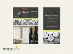 Emeyoni Wines Promotional Brochure - Designed by Looksee Design
