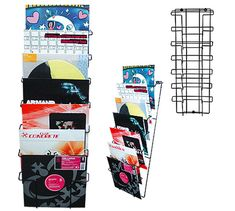 Analog Apartment - A place for people who love records - Vinyl record rack for yourwall