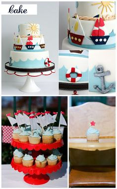 nautical theme party | Inspired Celebration: Nautical Children's Party Inspiration