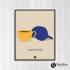 Gilmore Girls Lorelai & Luke Couple par RayeAllisonCreations