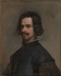 Velázquez (Diego Rodríguez de Silva y Velázquez) (Spanish, Seville 1599–1660 Madrid). Portrait of a Man, ca. 1630–35. Spanish. Oil on canvas. The Metropolitan Museum of Art, New York.The Jules Bache Collection, 1949 (49.7.42).