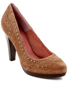 """Andre Assous """"Georgia"""" Studded Suede Platform Pump is on Rue. Shop it now….also in black"""