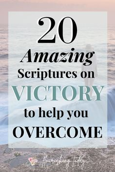 Are there obstacles you want to overcome in life? There's power in speaking the Word out loud! Here are 20 scriptures on victory to confess over your life. #scriptures #bibleverse #declarations Powerful Scriptures, Healing Scriptures, Word Out, Word Of God, Doers Of The Word, Christian Meditation, Revelation 12, Bible Verses About Love