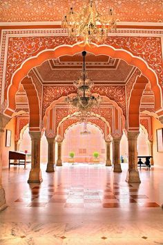 India Travel Inspiration - Indian Palace, Jaipur India