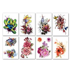 Leoars Large Flower Temporary Tattoos, Bright Flower Blossom Lily Peony Lotus Fake Tattoo Stickers, Sexy Big Flower Tattoos Body Makeup for Women Girl, 8-Sheet >>> Check out the image by visiting the link. (As an Amazon Associate I earn from qualifying purchases) Fake Tattoos, Flower Tattoos, Body Art Tattoos, Permanent Tattoo, Temporary Tattoo, Bright Flowers, Large Flowers, Black Henna, Flower Blossom