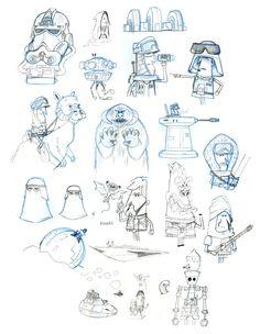 Star wars sketches