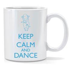 Tazza personalizzata Keep calm and dance