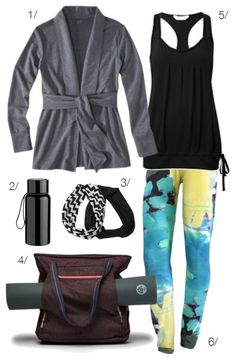 yoga outfit // click for outfit details