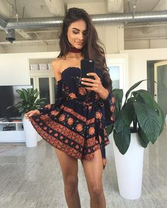 Let's all go on a summer Vacay - Europe is calling our name - next stop? Santorini ✈️❤️ super cute little Paisley playsuits $69.95