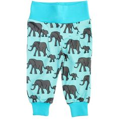 Duns Sweden's happy elephant families are marching towards new adventures - babies will love these. Made of organic cotton. Sizes: 62-92