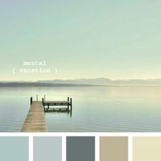 Calm colors