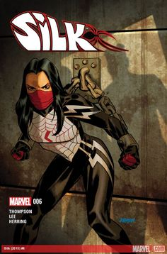 Silk Vol 1 #6 (2015) cover by Dave Johnson