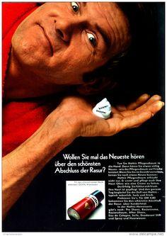 Original-Werbung/ Anzeige 1968 - 1/1 SEITE - HATTRIC RASIERSCHAUM - ca. 190 x 250 mm