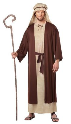 Superior Our Saint Joseph Costume Perfectly Completes Your Christmas Pageant! Adult  Saint Joseph Costume Features A Long Robe, Attached Brown Overcoat And A ...