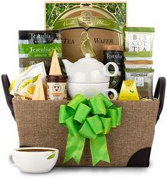 Traditional Teatime Basket for mom