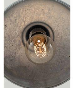 galvanised light fitting | pendant
