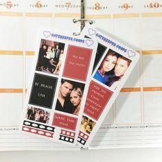 BUFFY Inspired Motivational Boxes for Erin Condren Life Planner [Set of 2 Sticker Sheets]