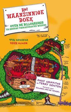 Wil je meer weten over de prehistorie? Lees dan nu het meest ONVERANTWOORDE boek OOIT over billosaurussen en andere prehistorische wezens.