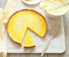 The best baking recipes from The Australian Women's Weekly including banana and chocolate cake, lemon meringue pie, Anzac biscuits, mince pies & more. Pudding Desserts, Custard Desserts, Lemon Dessert Recipes, Lemon Recipes, Tart Recipes, Free Recipes, Asian Recipes, Delicious Desserts, Lemon Meringue Cheesecake