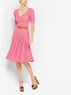 Hand-Crochet Stretch-Viscose Dress