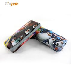 This metal pencil case can be customized with clients design to present a pretty and stylish twist. http://www.tinpak.us/Products/UniqueMetalPencilCase.html
