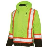 Work King Safety Hi-Vis Insulated 5-in-1 Jacket: Work King Safety Hi-Vis Insulated 5-in-1 Jacket #Hunting #Shooting #Fishing #Camping