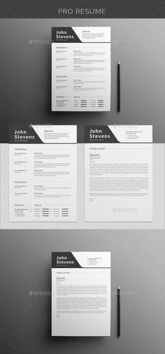 #Resume - Resumes Stationery Download here:  https://graphicriver.net/item/resume/19548499?ref=alena994
