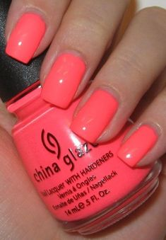 Nail Polish Colors Trends for Summer Time! China glaze flip flop fantasy.