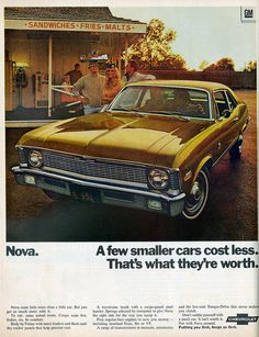 1970 Chevrolet Nova Ad(viasueism).