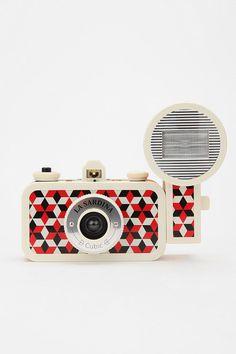 Lomography La Sardina Flash DXL Analogue Camera  - It takes really old fashioned looking photos