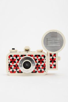 Lomography La Sardina Flash DXL Analogue Camera  - It takes really old fashioned looking photos