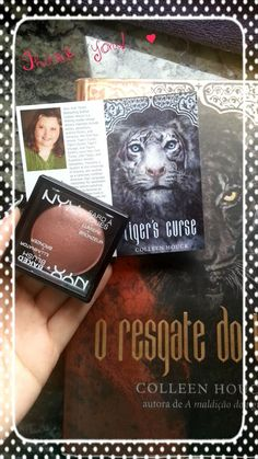 @Kallahanlaura Thank you so much for this amazing blush prize Shara Lane! ^u^ @ColleenHouck Brazil is waiting for you *-*