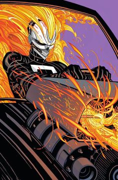 Robbie Reyes as the new Ghost Rider