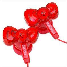 Ear phones!